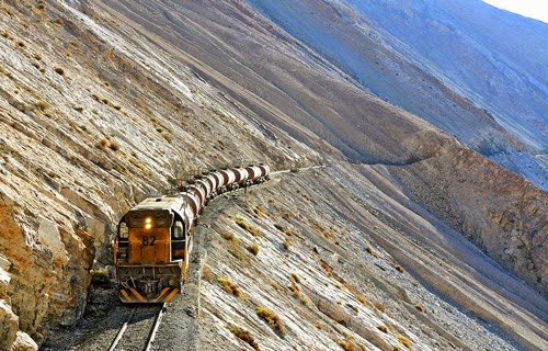 تحبس الانفاس للسكة الحديدية الأكثر